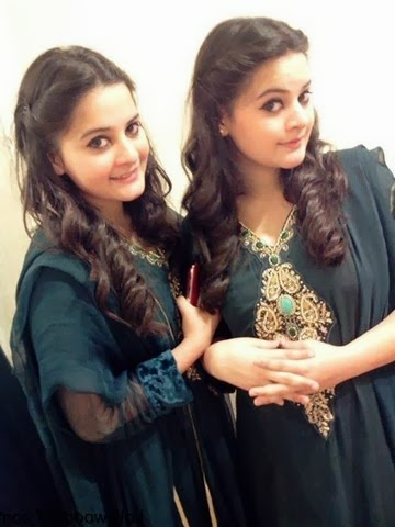 Aiman Khan And Minal Khan photos