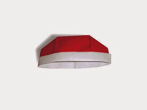 Hướng dẫn cách gấp mũ Khang Hy bằng giấy đơn giản - Xếp hình Origami với Video clip - How to make a chinese hat