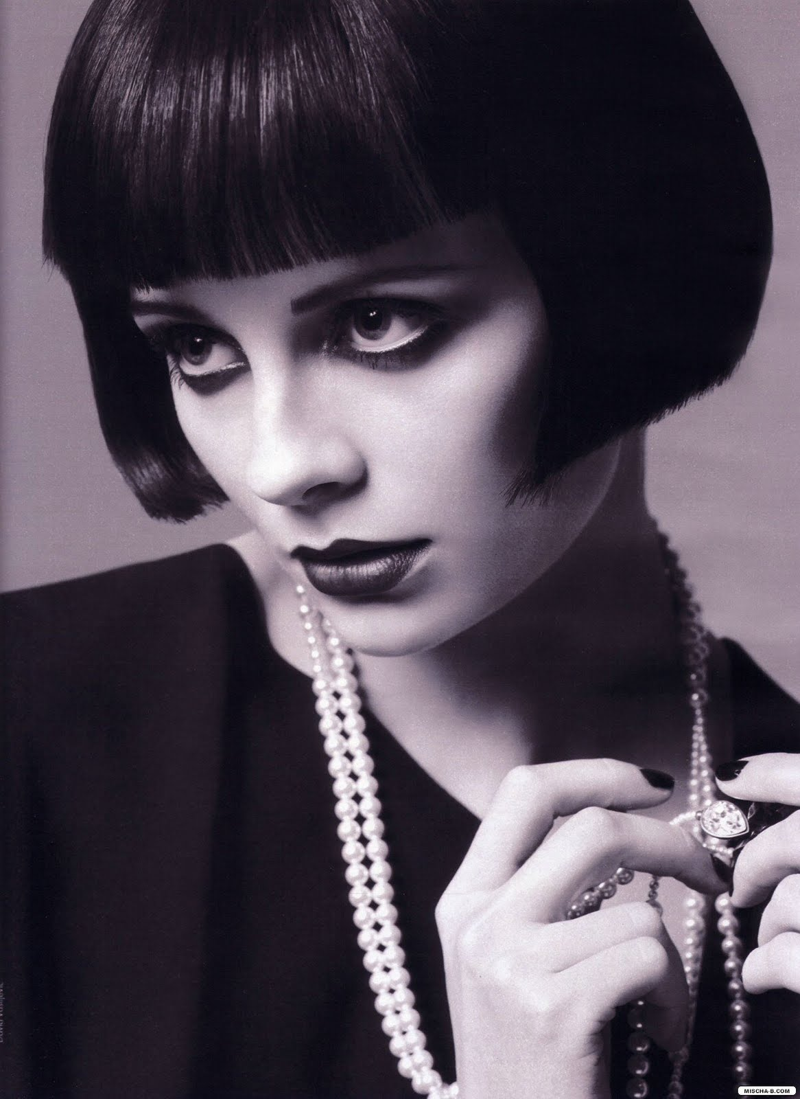 Dolly Rocker Girl: Then and Now: the Louise Brooks Hairstyle