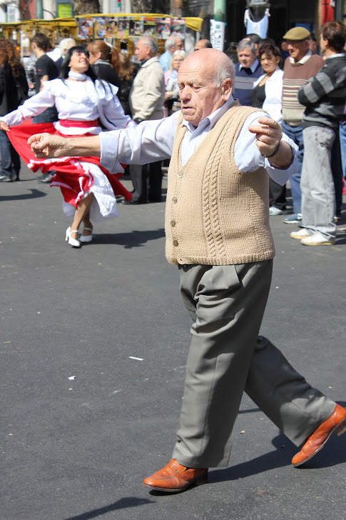 Dansende mann