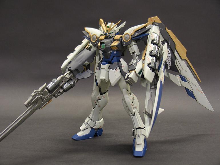 Gundam Guy Mg 1 100 Wing Gundam Ver Ka Painted Build