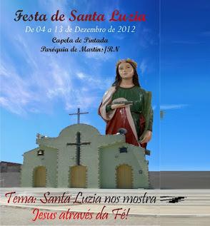 Festa de Santa Luzia Em Pintada