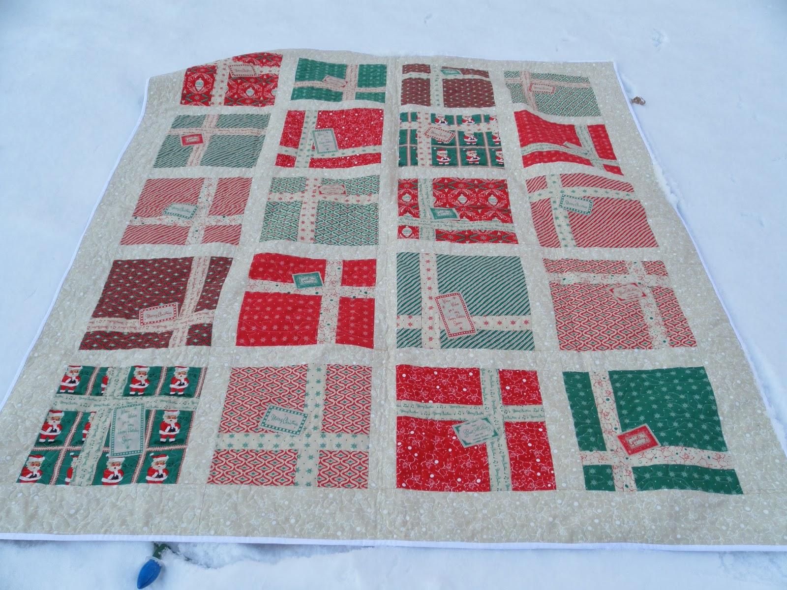 sage november sews: Christmas Gifts Quilt