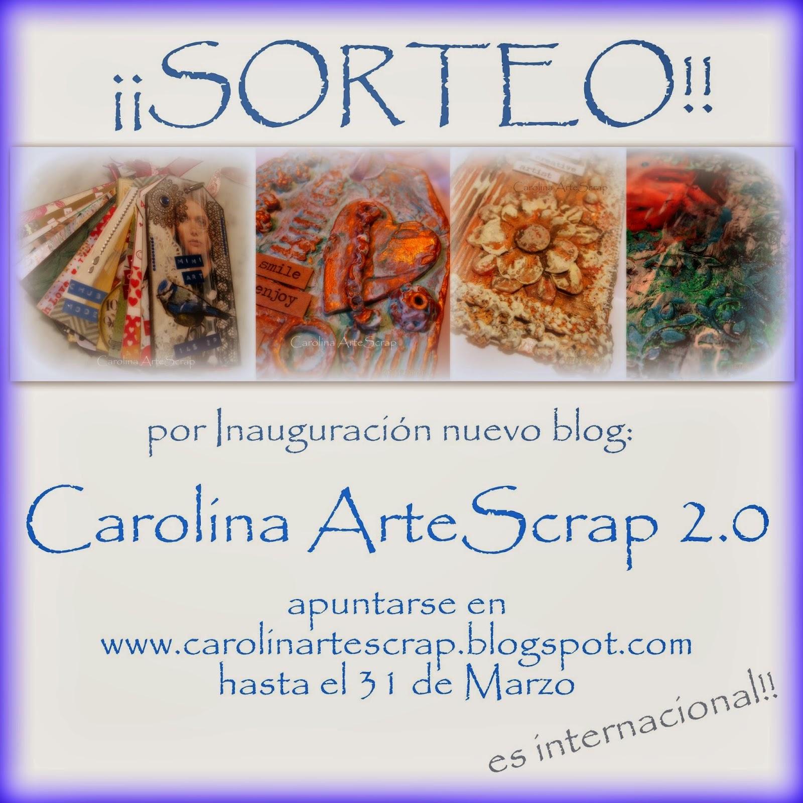 Sorteo de Carolina Arte Scrap
