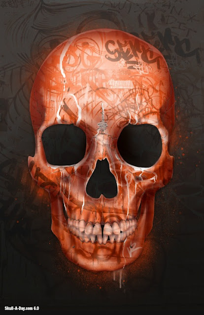 Skull-A-Day • FACE OFF Artist Spotlight: Street Anatomy Artists