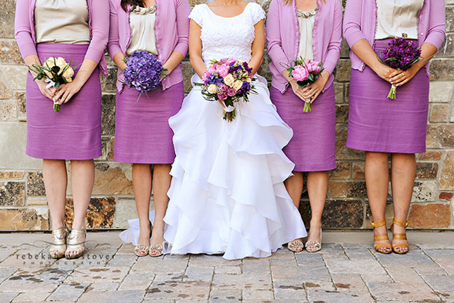 wedding trends bridesmaids in skirts how to styled