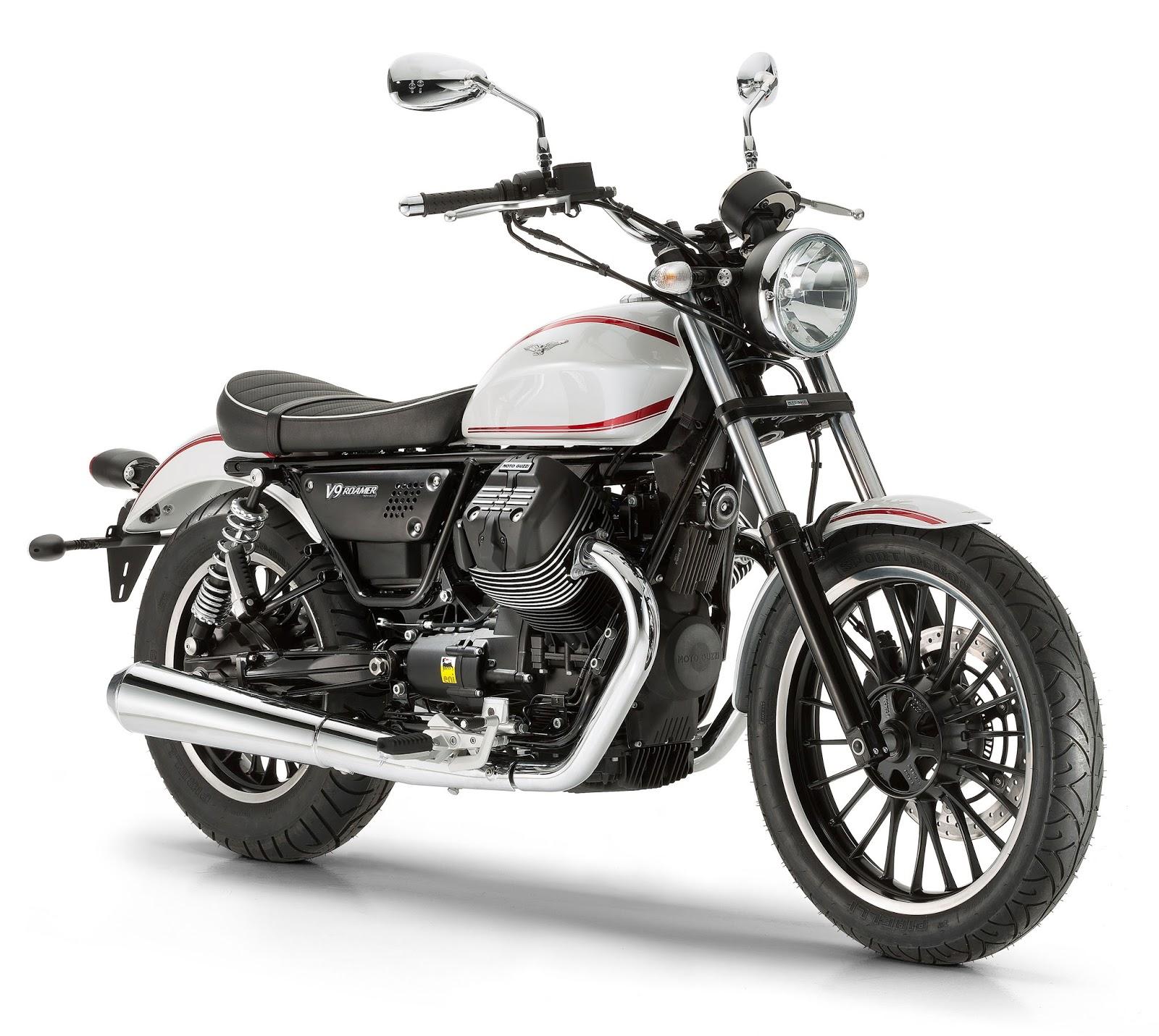 Racing Caf U00e8  Moto Guzzi V9 Roamer 2016