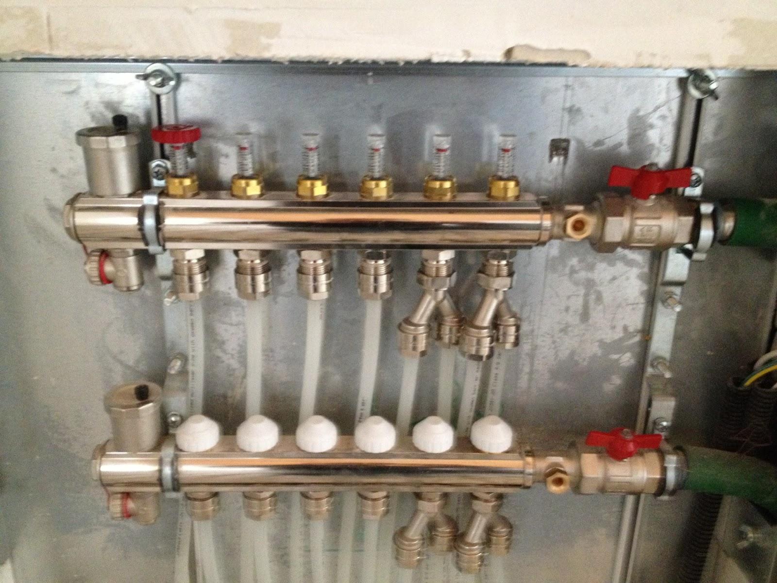 Riscaldamento a pavimento per ristrutturazione idraulica for Disegno impianto riscaldamento a termosifoni