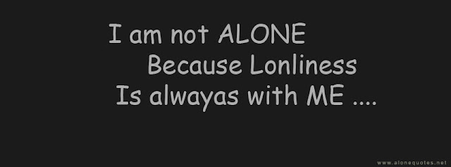 alone quotes and saying