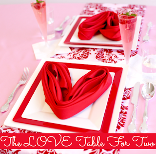 Pink party girl - Valentine s day table setting ...