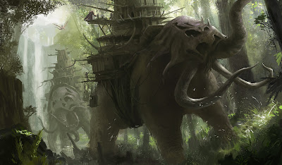 CLDesign Studio Fantasy Painting For MMO Pitch