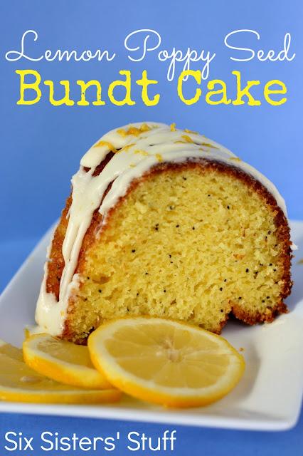 Lemon Poppy Seed Bundt Cake | Six Sisters' Stuff