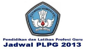 Daftar dan Nomor Rayon Pelaksana PLPG Sertifikasi Guru 2013