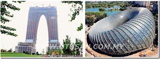 Bentuk bangunan di China dikritik
