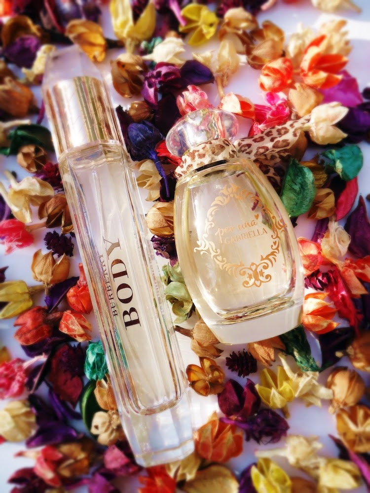 My Favorite Fragrances in London Burberry BODY & Per Una GABRIELLA