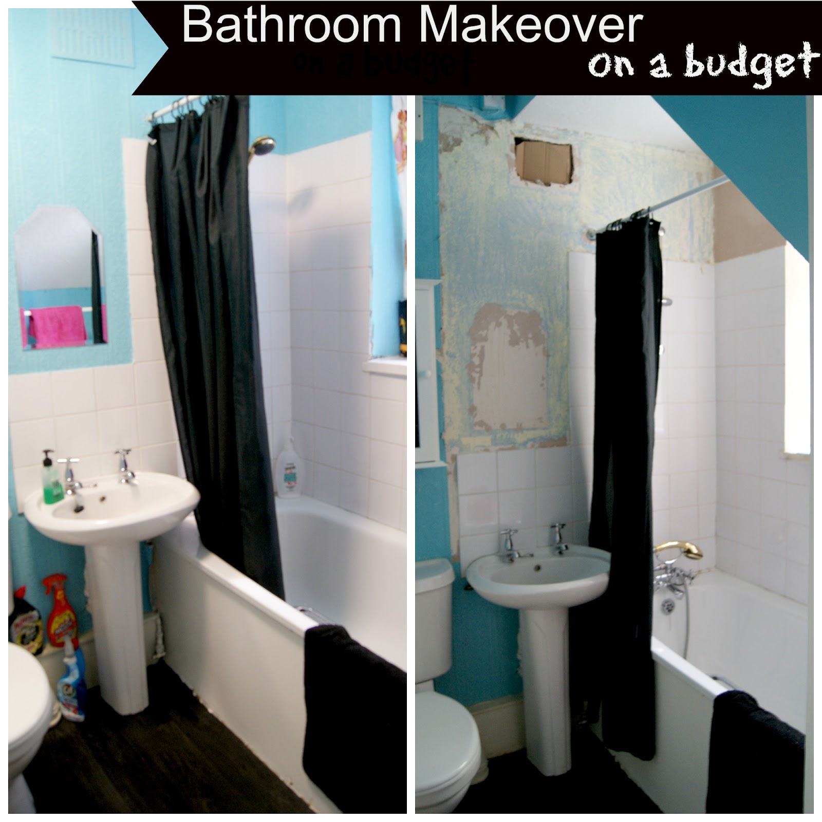 The Syders Bathroom Makeover On A Budget