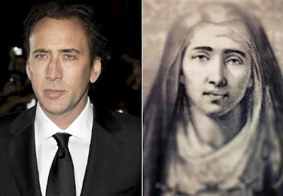 nicolas cage es la virgen maria