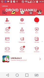 cara ganti tema line berbayar di android dengan gratis