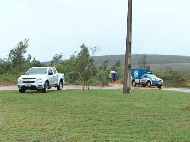 Corpos de pastora e de prima foram encontrados em estrada de Conquista, na Bahia (Foto: Imagem/TV Sudoeste)