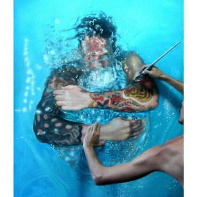 Gustavo Seniman Yang Membuat Lukisan Tampak Nyata 7