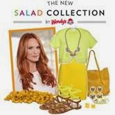 Wendy's New Salad Collection Molly Sims Polyvore