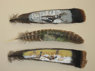 Can You Paint And Sell Wild Turkey Feathers