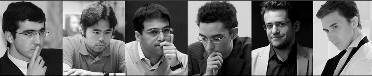 Participantes del Zurich Chess Challenge 2015