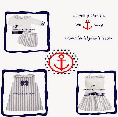 Coleccion Marinera de  Foque en Daniel y Daniela