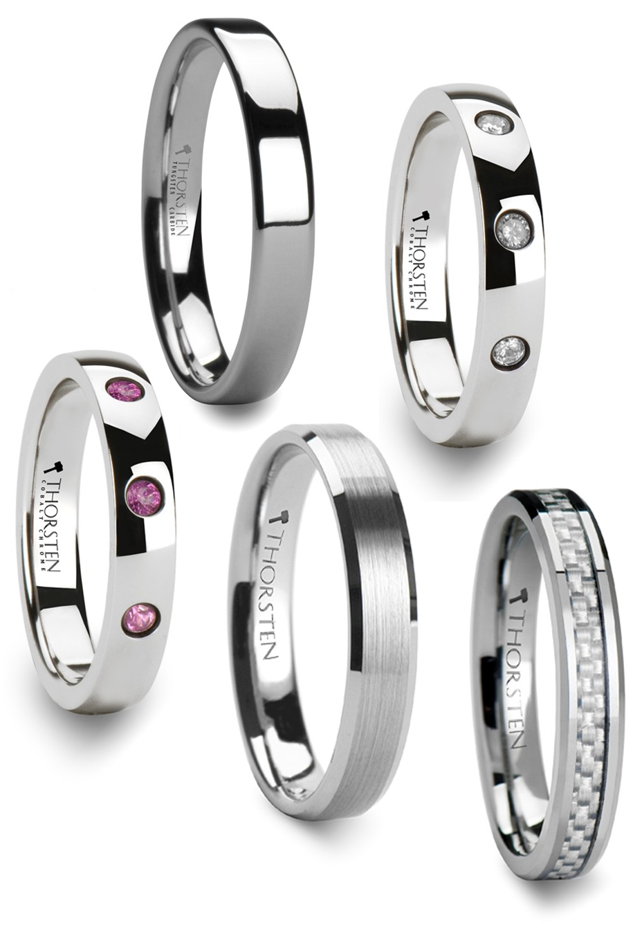 bridal men band tungsten ring free women s dp carbide amazon com bands engraving set comfort fit wedding