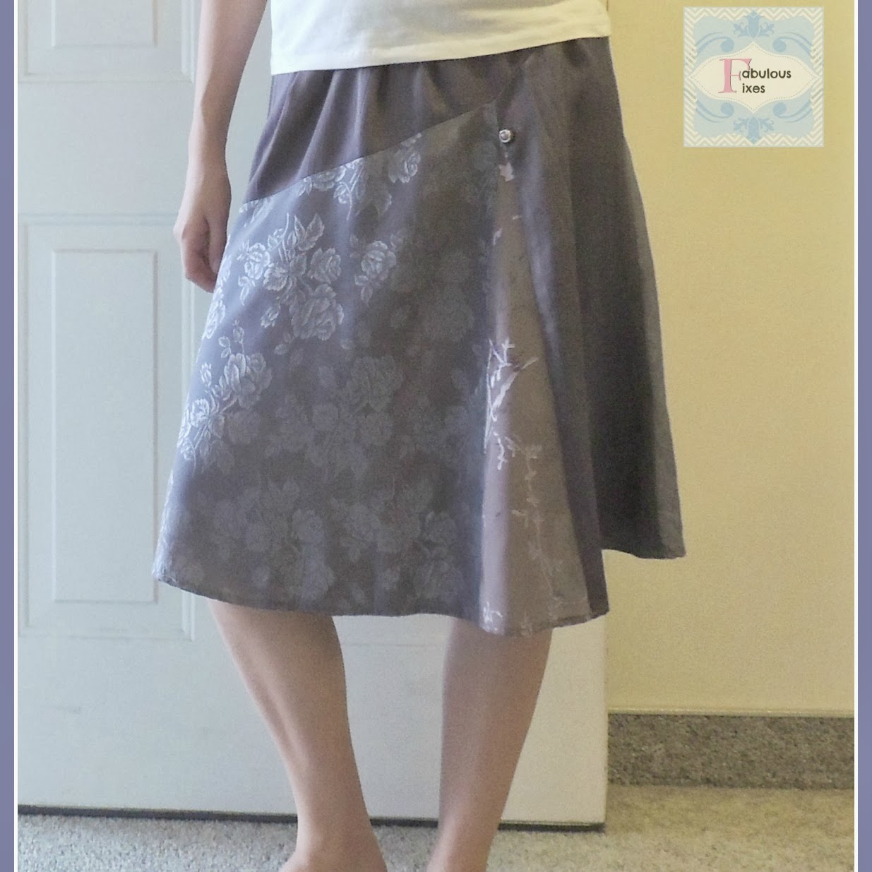 Shortening-A-Skirt-The-Easy-Way