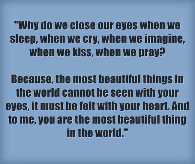 Vì sao chúng ta nhắm mắt khi hôn