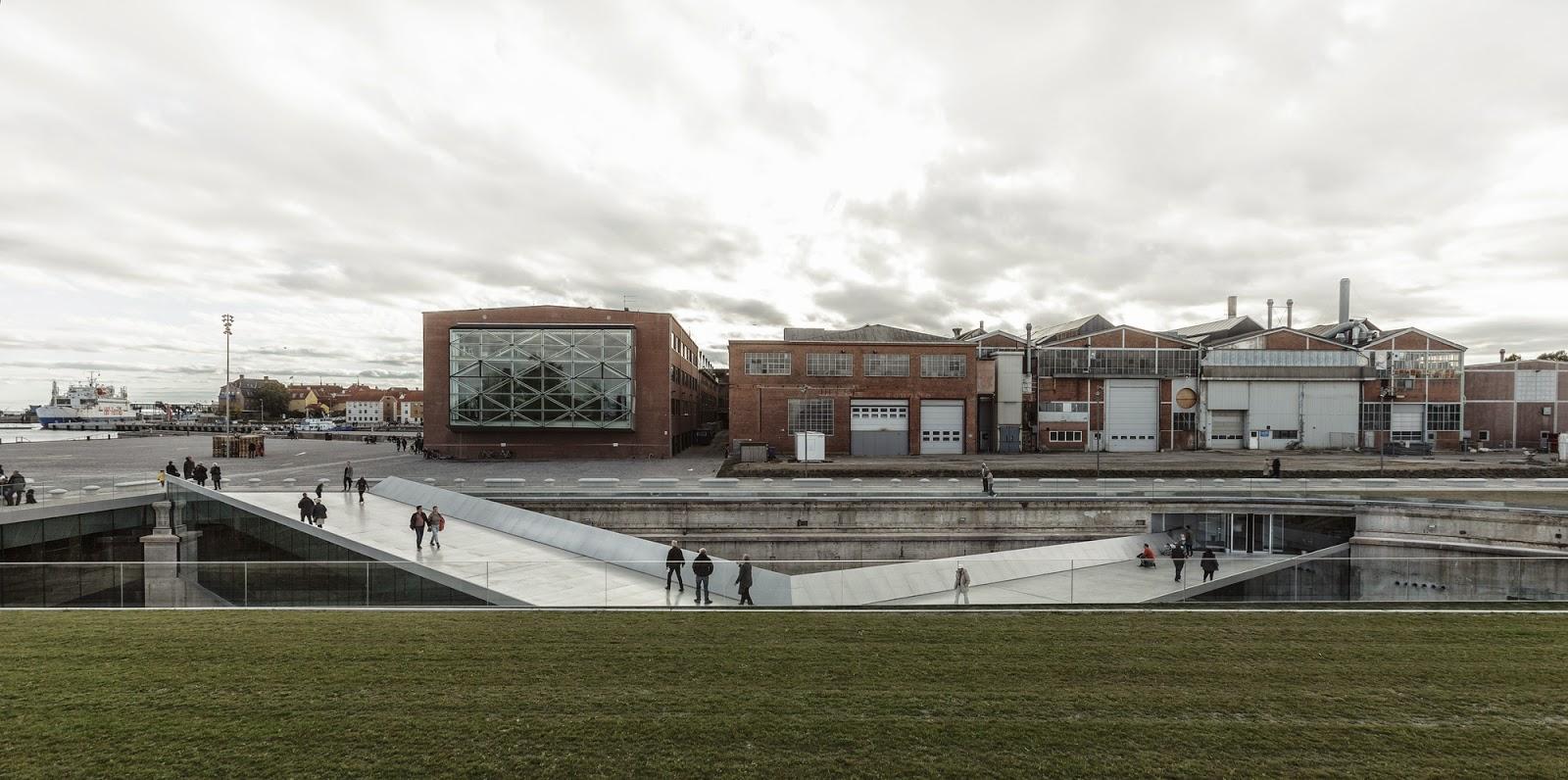Architecture as aesthetics danish national maritime museum for Architektur rampe