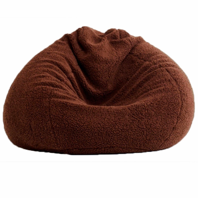 Nice brown design kids bean bag chair