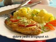 Smotanové rezne s paradajkami - recept