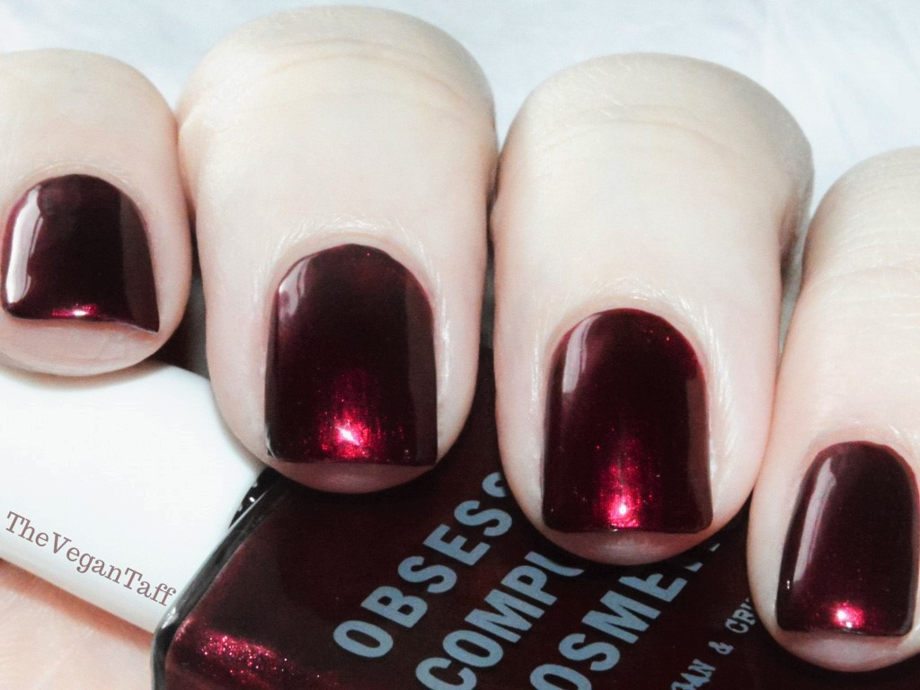 OCC Black Metal Dahlia Nail Polish