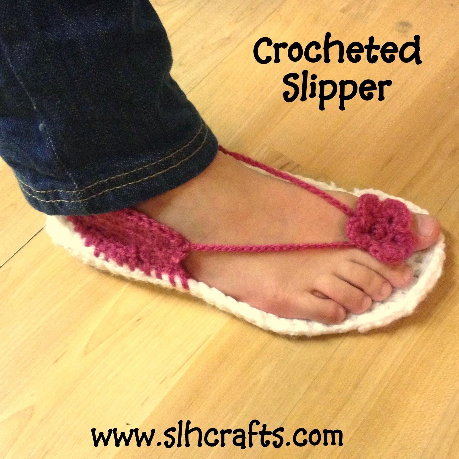 Crochet Slipper Sandal