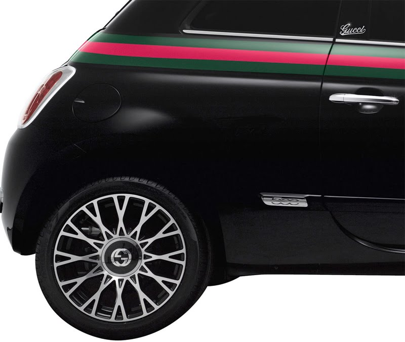 Fiat Of Cc >> If It's Hip, It's Here (Archives): A Good Look At The Special Edition Gucci Fiat 500 & Matching ...