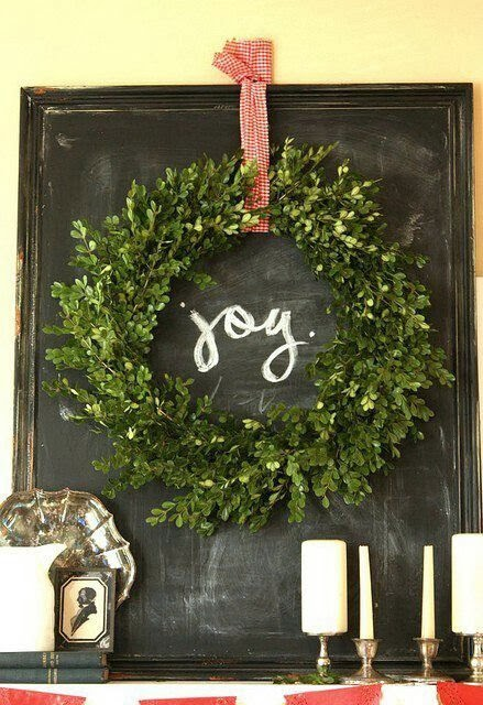 The Entertaining House: Stylish notes on decorating with greens :: Slow and Simple Christmas Decor