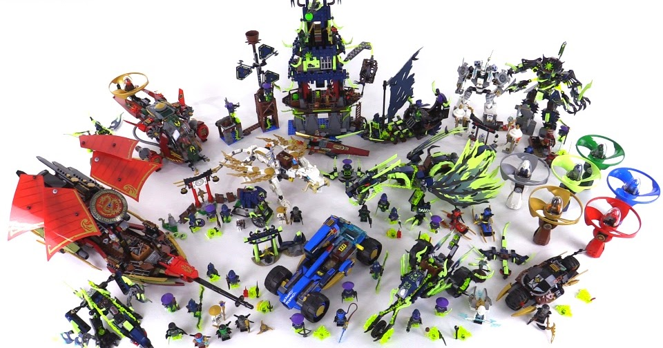 Lego Ninjago Summer 2015 Collection All Sets Together