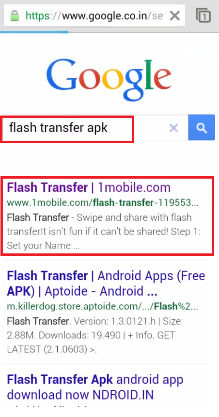 How to Download, Install and Use Flash Transfer in Android Phone