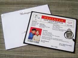 Surat Undangan Pernikahan