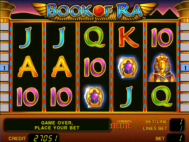 book of ra online poker ca la aparate