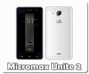 Buy Micromax Unite 2 - the better Moto E for Rs.6999 with Front Camera, Flash,4.7inch ,QuadCore