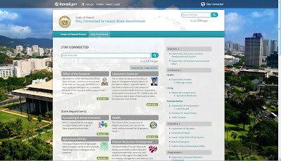 screenshot of http://stayconnected.hawaii.gov/