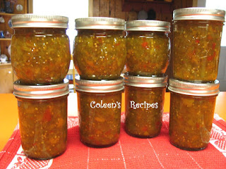 GREEN TOMATO PICKLE RELISH