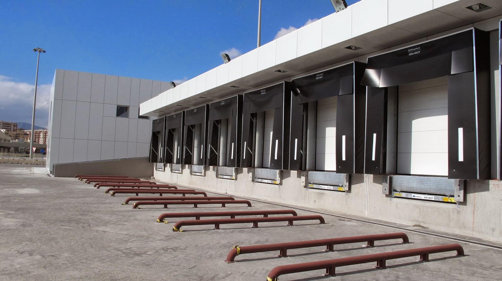 Muelles descarga reformados para mercancías vegetales | PIF puerto de Algeciras