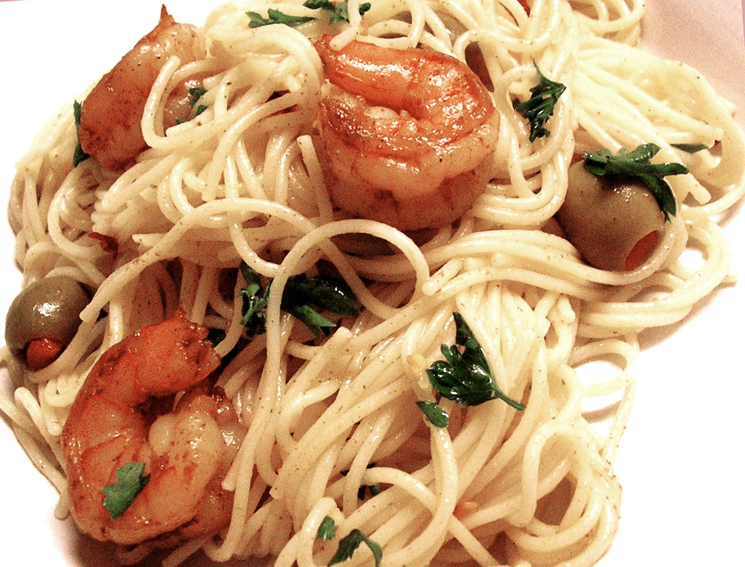 Curried Shrimp with Angel Hair Pasta in Lemon Butter Sauce | Republic ...