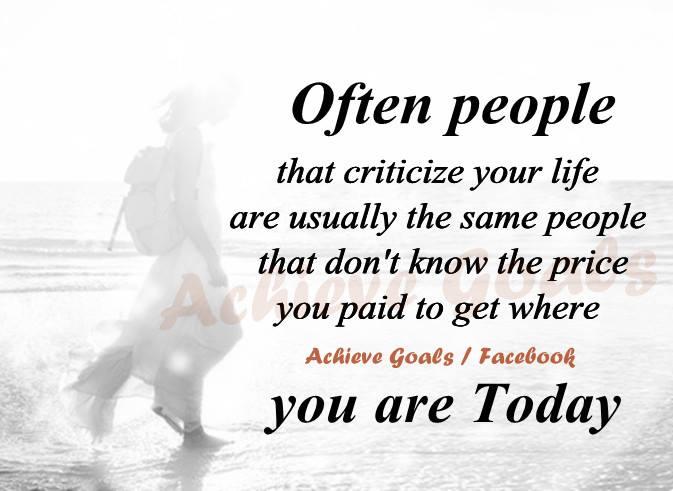 Criticize