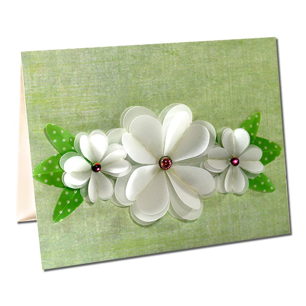 Jmrush Designs Flower Card