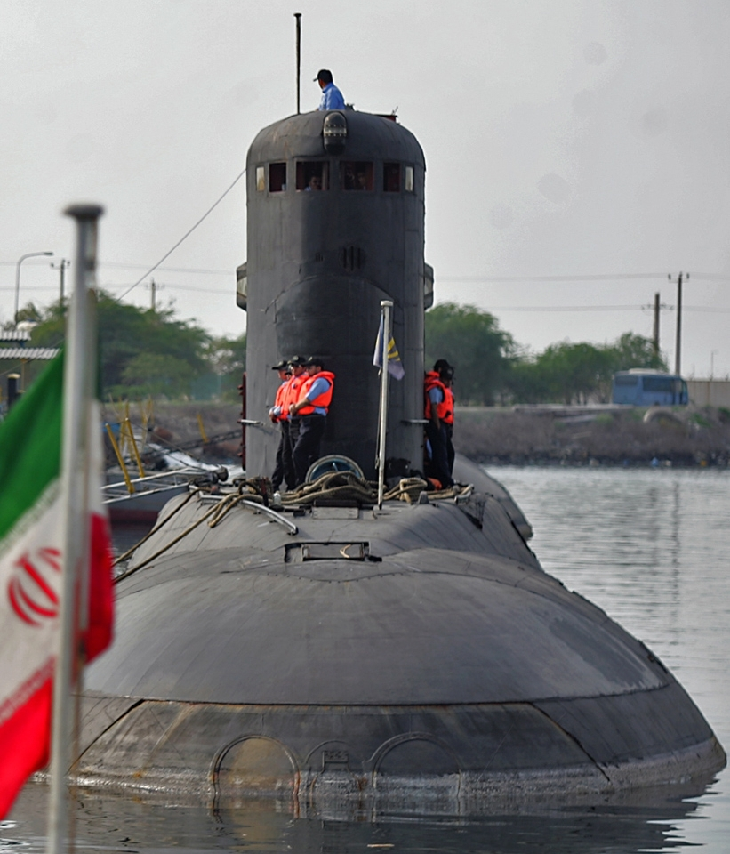 Armée Iranienne/Armed Forces of the Islamic Republic of Iran Islamic+Republic+of+Iran+Navy+(IRIN)+Kilo+naval+diesel-electric+submarineProject+636+Varshavyanka+Project+877+Paltus+(Turbot)+anti-shipping+and+anti-submarine+operations+exercise+fired+misile+teropedo+(3)